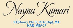 Nayna Kumari - Body Psychotherapy